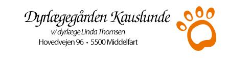 Dyrlægegården Kauslunde Logo